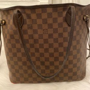 Louis Vuitton Neverfull Damier MM Tote Bag